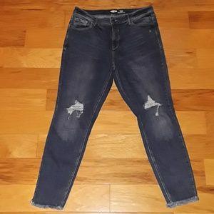Old Navy Rockstar Jean's